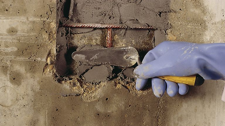 betonrot repareren, betonrot herstellen, beton waterdicht maken, beton impregneren