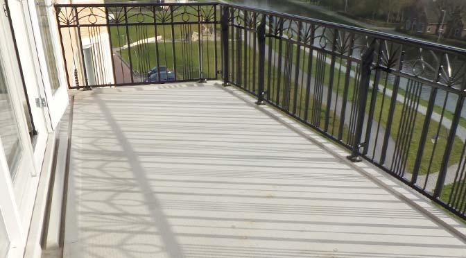 balkonvloer waterdicht maken