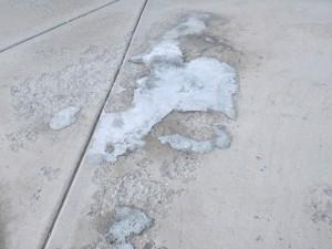Beton vries en dooi schade kan worden voorkomen door een silicaat beton sealer