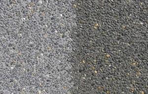 Beton behandeld met silicaat beton sealer