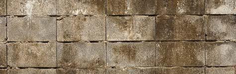 vieze betonblokken - niet impregneerbaar