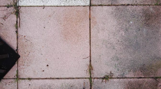 betontegels impregneren, betontegels vuilafstotend maken