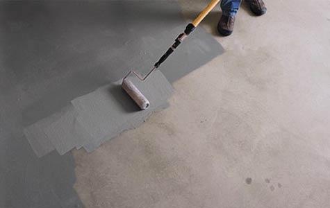 betonvloer impregneren kelder, betonvloer overschilderen, betonvloer behandelen kelder