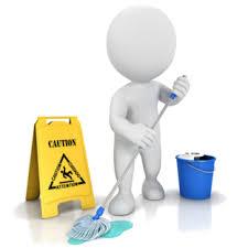 Beton schoonmaken