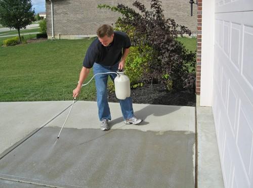 beton sealer aanbrengen, beton impregneermiddel, beton impregneren
