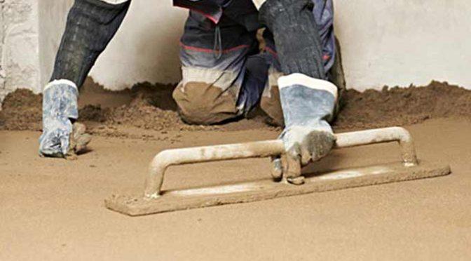 keldervloer waterdicht maken door cementdekvloer, kelder waterdicht maken, kelder impregneren, cementdekvloer in kelder