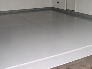 Oppervlakte beton sealers - acryl op garagevloer