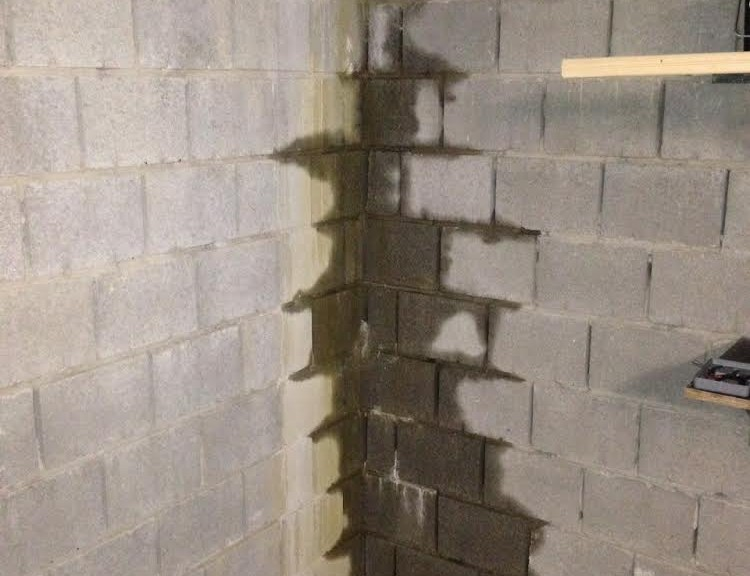 betonblokken, vocht in de kelder, vochtbestrijding