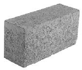 volle betonblokken, betonblok vol