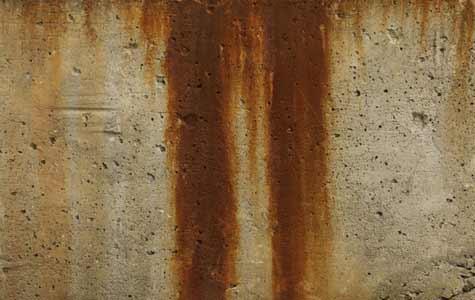 beton schoonmaken, roestvlekken beton, roestvlekken verwijderen, roest reinigingsmiddel, roest reinigen beton